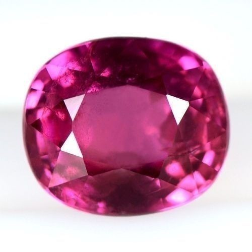 2.07 Cts Natural Top Pink Red Ruby Gemstone Oval Cut Certified Winza Tanzania