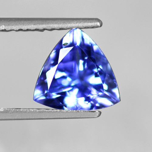 1.72 Cts Natural Wonderful AAA+ D-Block Tanzanite Loose Gemstone Trillion Cut