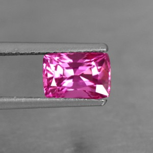 1.60 Cts Natural Certified Lustrous AAA+ Rich Pink Sapphire Cushion Cut Srilanka