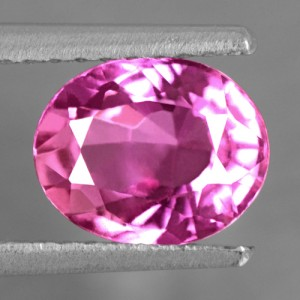 1.51 Cts Natural Certified Unheated Top Pink Sapphire Oval Cut Sri Lanka Video