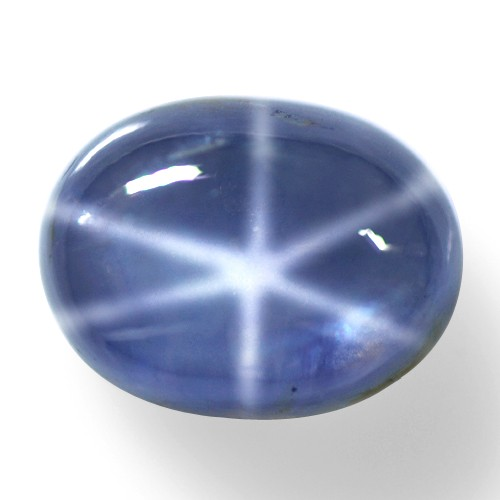 11.09 Ct Natural TOp Six Rays Star Sapphire Oval Cab Certified ceylon sale price