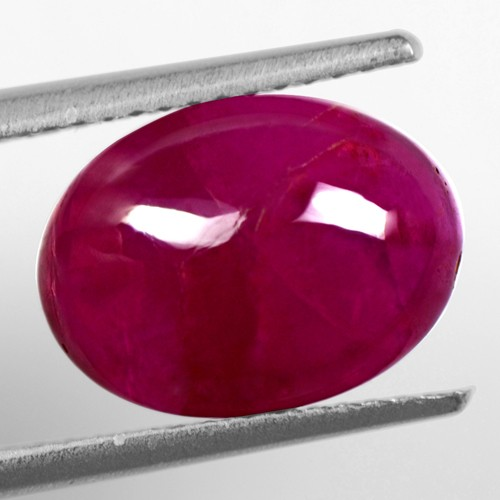6.85 cts Natural Perfect Stunning Ruby Gemstone Oval Cabochon Unheated Madagascar
