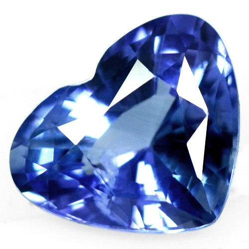 2.18 Cts Natural Top Blue Color Sapphire Loose Gemstone Heart Cut Srilanka Mined