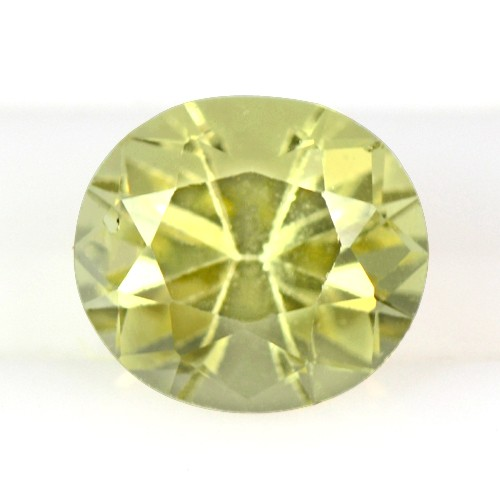 1.01 Cts Natural Yellow Sapphire Gem Oval Cut Certified Unheated Srilanka