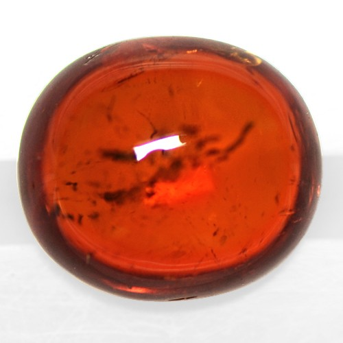 3.95 Cts Natural Top Fanta Orange Mandarin Spessartite Garnet Oval Cab Namibia