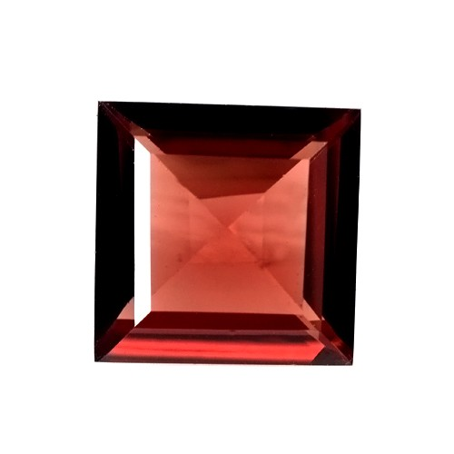 1.56 cts Natural Top Best Pyrope Red Garnet Loose Gems Square Cut Mozambique 7mm