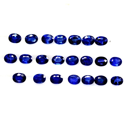 5.71 Cts Natural Top Royal Blue Sapphire Loose Gemstone Oval Cut Oldmogok 4x3 mm