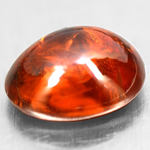 1.87 Cts Natural Lustrous Fanta Honey Orange Spessartite Garnet Oval Cab 8x6 mm