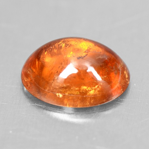 1.81 Cts Natural Lustrous Top Fanta Orange Spessasrtite Garnet Oval Cab 8x6 mm