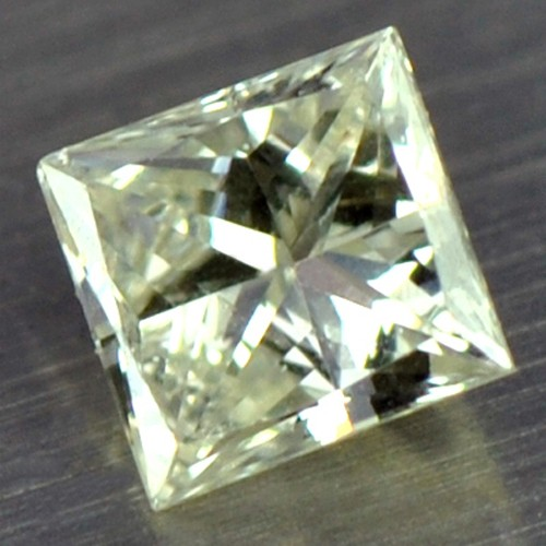 0.08 cts Natural Fancy Diamond Square Cut Belgium Untreated Loose Gemstone