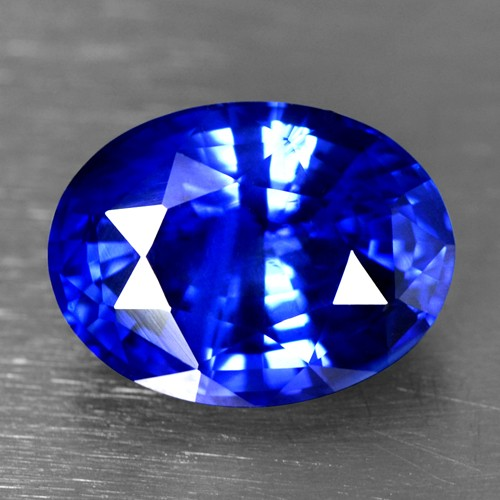 4.40 Cts Natural Certified Blue Sapphire Oval Cut Ceylon Loose Gemstone Video