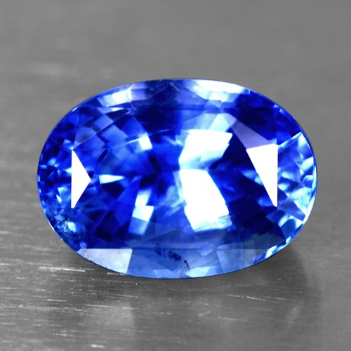 4.04 Cts Natural Certified Blue Sapphire Oval Cut Ceylon Loose Gemstone Video