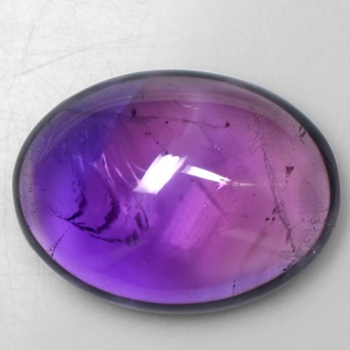 29.99 Cts Natural Rich Purple Blue Amethyst Oval Cabochon Brazil Loose Gemstone