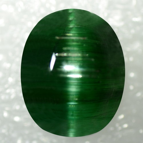 Fine 15.25 Cts Natural Lustrous High Quality Tourmaline Cats Eye Brazil Gemstone
