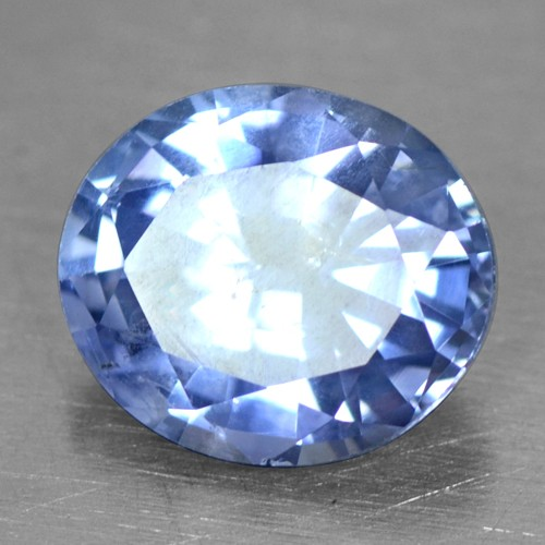 1.65 Cts Natural Top IGI Certified Oval Cut Blue Sapphire Unheated Ceylon Video