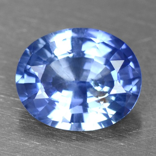 1.21 Cts Natural Top IGI Certified Oval Cut Blue Sapphire Unheated Ceylon Video