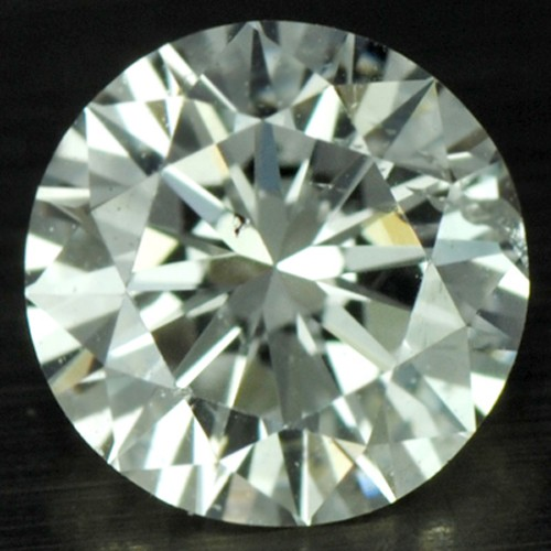 0.37 Cts Natural Top VS Diamond (F) Color Loose Gemstone Round Cut Belgium